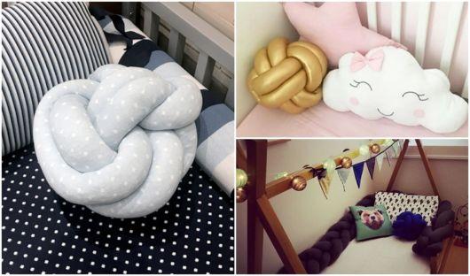 modelos de almofadas bebê