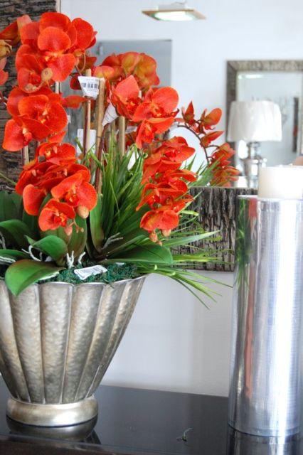 arranjo de orquídeas para sala