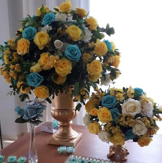 arranjos com rosas