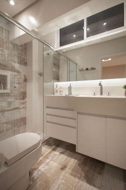 Banheiro planejado pequeno