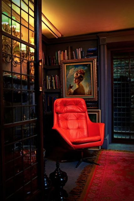 cadeira vermelha para escritório