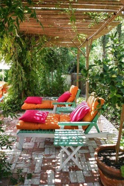 decoração jardim