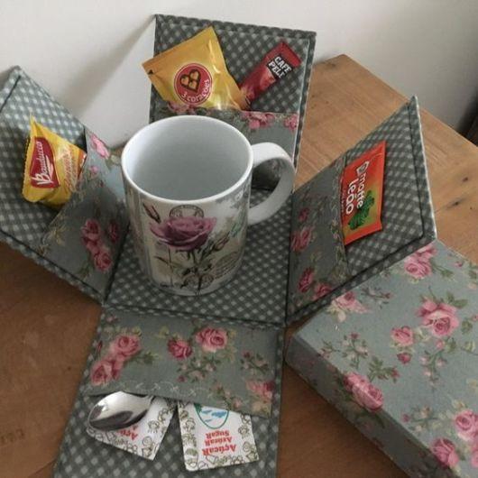 caixa surpresa café da manhã