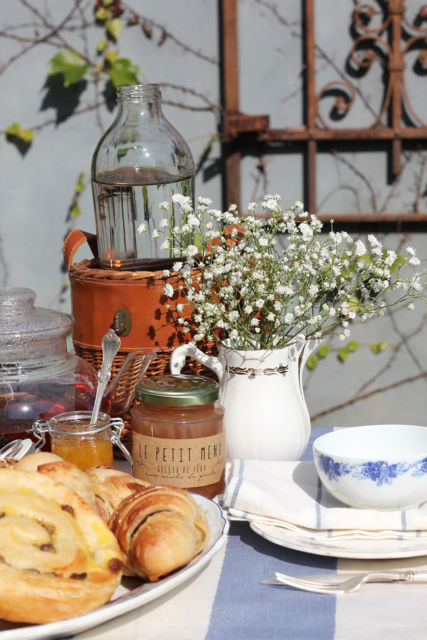 Decoração de chá da tarde
