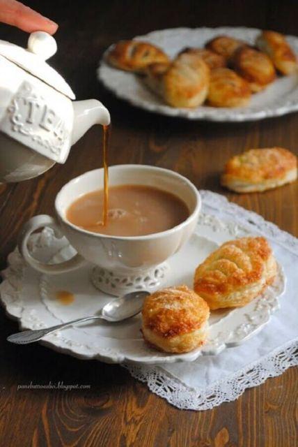 Comidas para chá da tarde