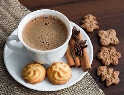 Café para lanche da tarde