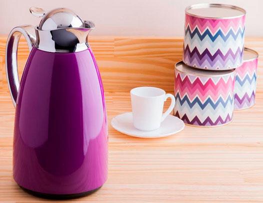 Bebidas para o chá da tarde