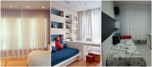 modelos de cortina quarto