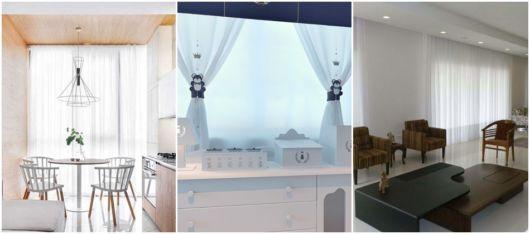 cortina branca