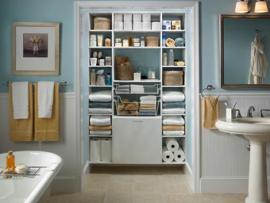 Dicas de organização para banheiro
