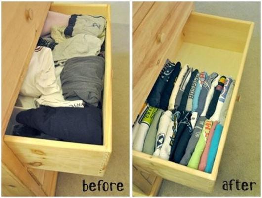 Dicas de organização de guarda-roupa