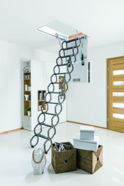 escada para sótão