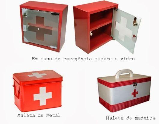 Farmacinha vermelha