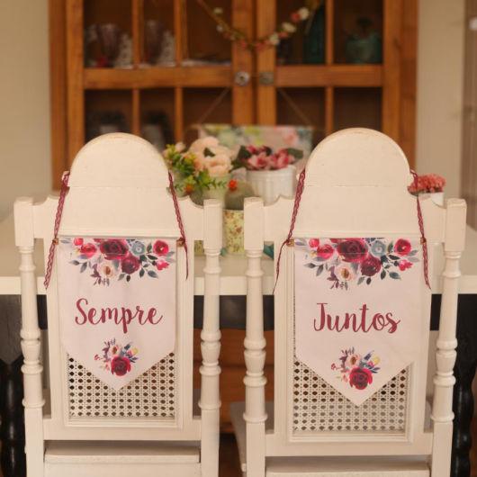 cadeiras noivos casamentos