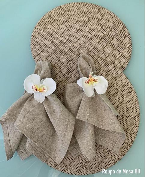 porta guarnapo de orquídea