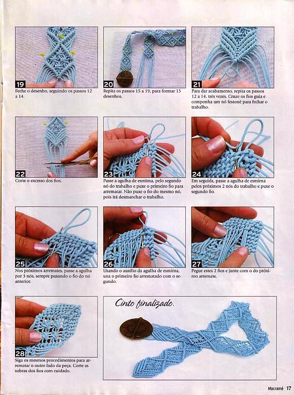 como fazer macrame