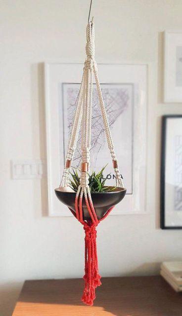 suporte moderno para vaso
