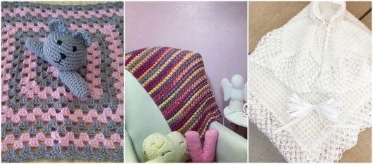 modelos de manta para bebê