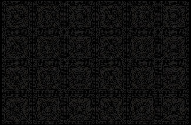 gráfico crochê square