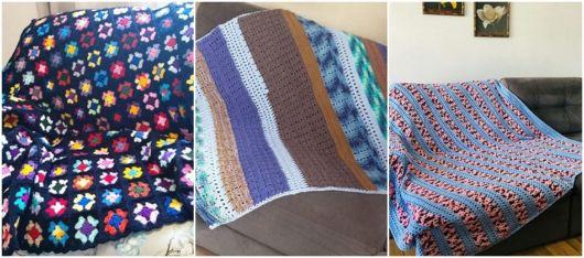 modelos de manta para sofá