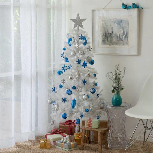 modelos de árvore de natal branca