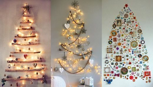 modelos de árvore de natal de parede