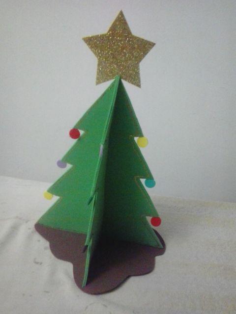 modelos de árvore de natal de EVA