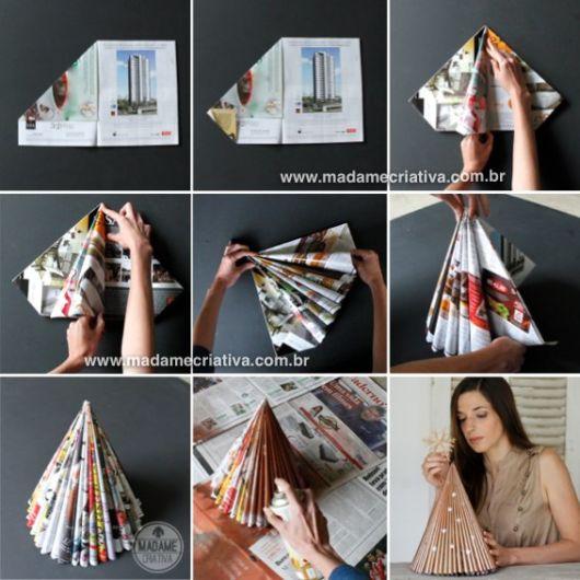 modelos de árvore de natal de revista
