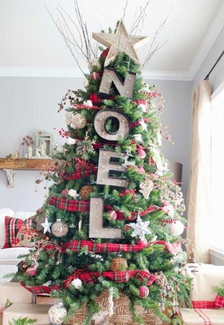 modelos de árvore de natal grande