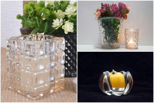modelos de vidro