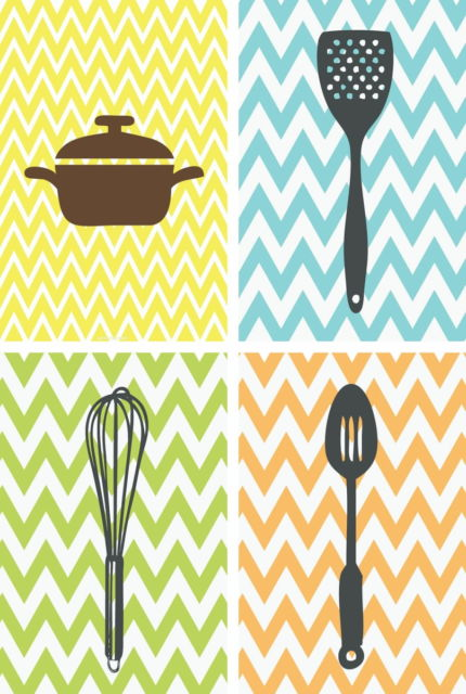 quadro colorido para cozinha.