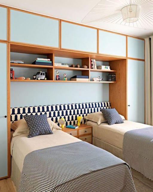 quarto azul meninos