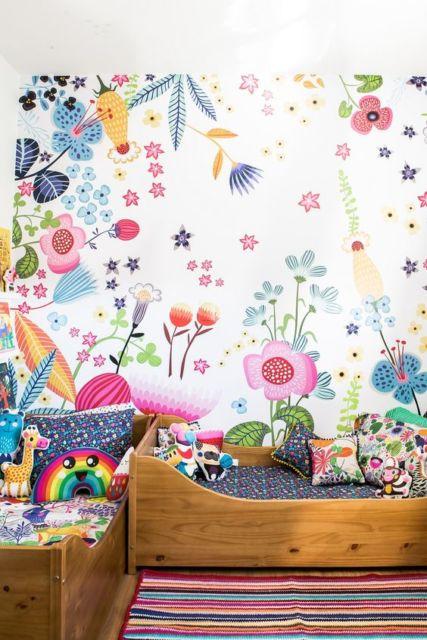 quarto colorido meninas