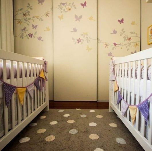 quarto de bebê para meninas