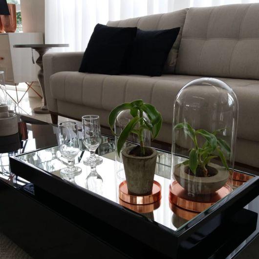 decoração mesa de centro