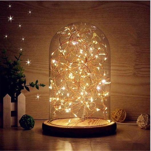 cordão de luzinhas decoração