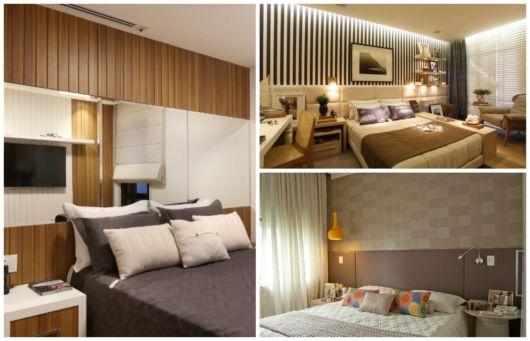 Revestimentos diversos para quartos