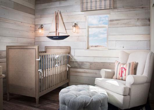 Revestimento para quarto de bebê