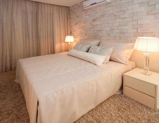 revestimento para quarto de casal