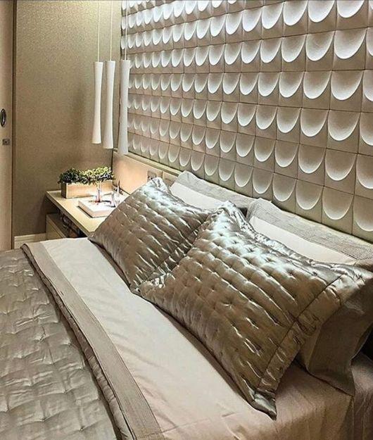 Revestimento 3D para quarto