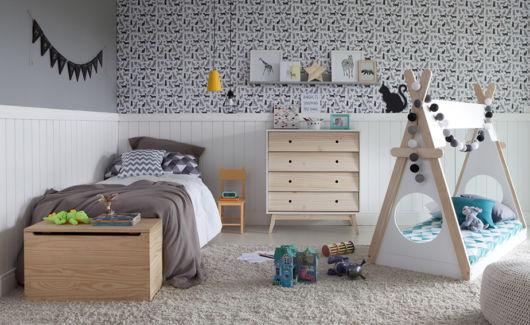 Revestimento para quarto infantil
