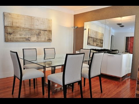 Sala de jantar decorada simples