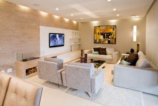 sala de TV grande
