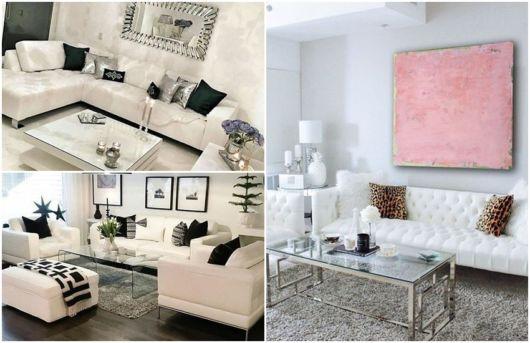 modelos de sofá branco