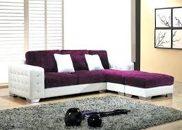 sofá roxo modelo de canto