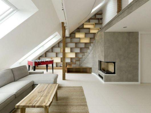 sótão moderno