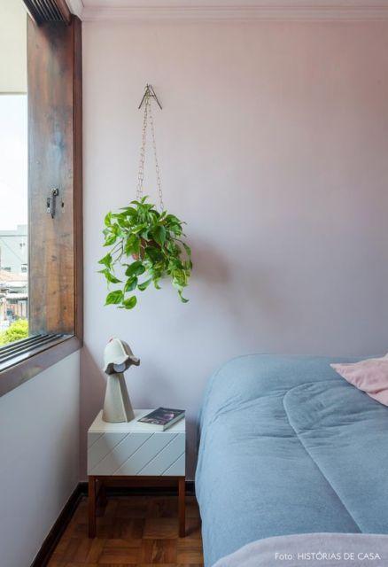 planta pendente quarto