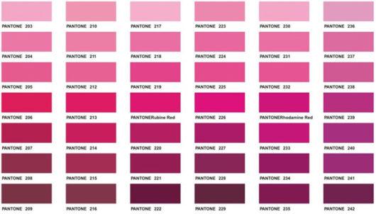 Decoração rosa pink