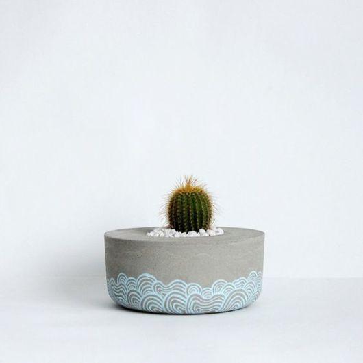 vaso pequeno decorado