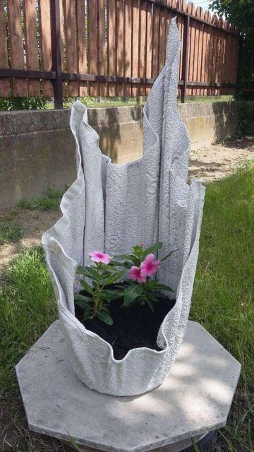 vaso grande toalha